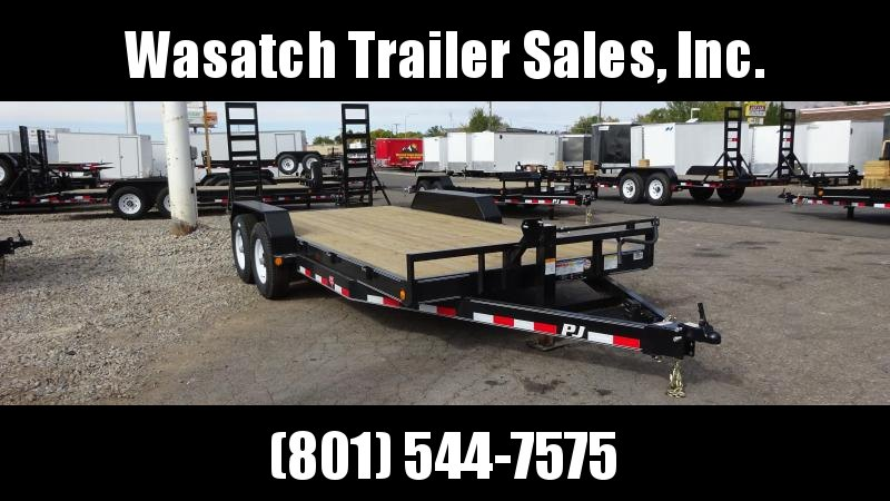 2019 PJ Trailers 18ft - 6 in. Channel Equipment (CC) Equipment Trailer