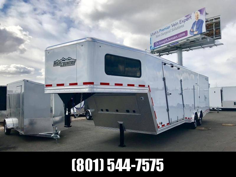2018 High Country 38ft Gooseneck Elevation Snowmobile Trailer