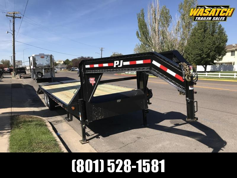 PJ Trailers Classic Flatdeck with Singles (FS) Flatbed Trailer