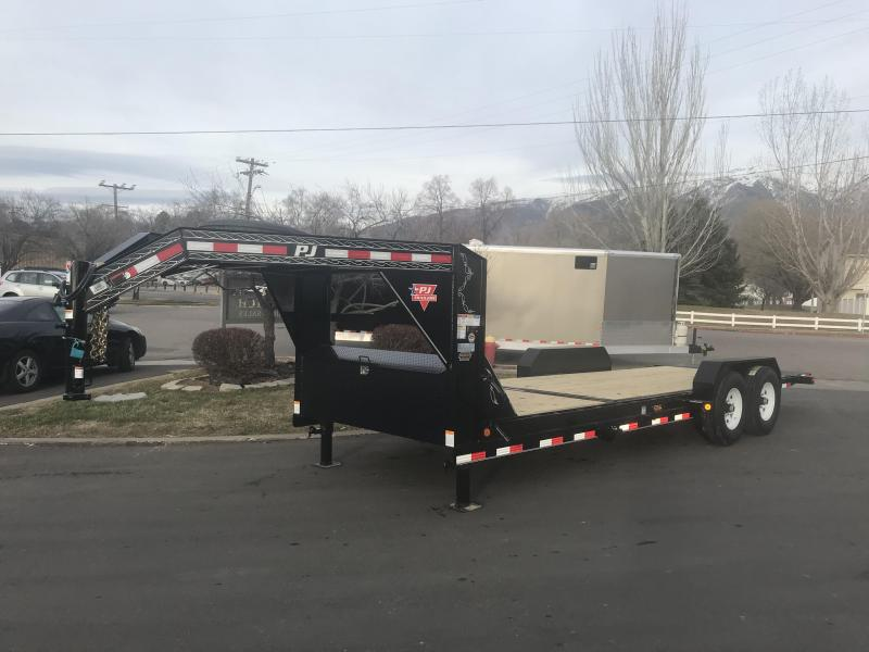 2018 PJ Trailers 22 Tilt Equipment Trailer