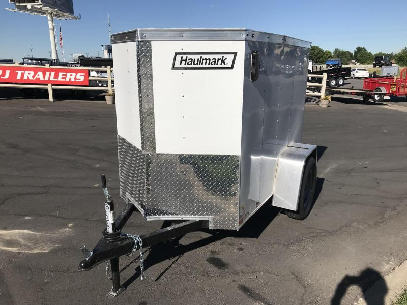 2018 Haulmark 4x6 VG3000 Enclosed Cargo Trailer