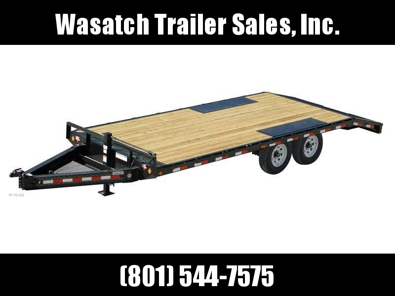 2019 PJ Trailers 24ft - 8 in. I-Beam Deckover (F8) Flatbed Trailer