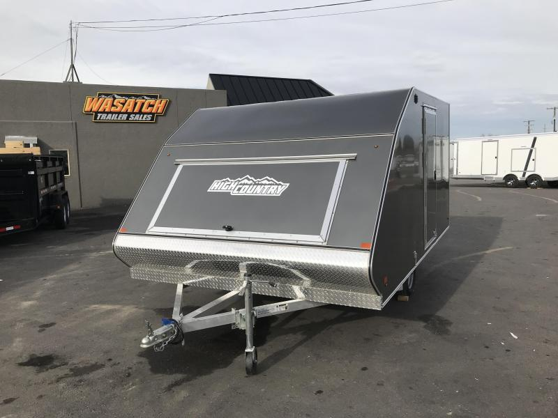 2019 High Country Crossover Snowmobile Trailer