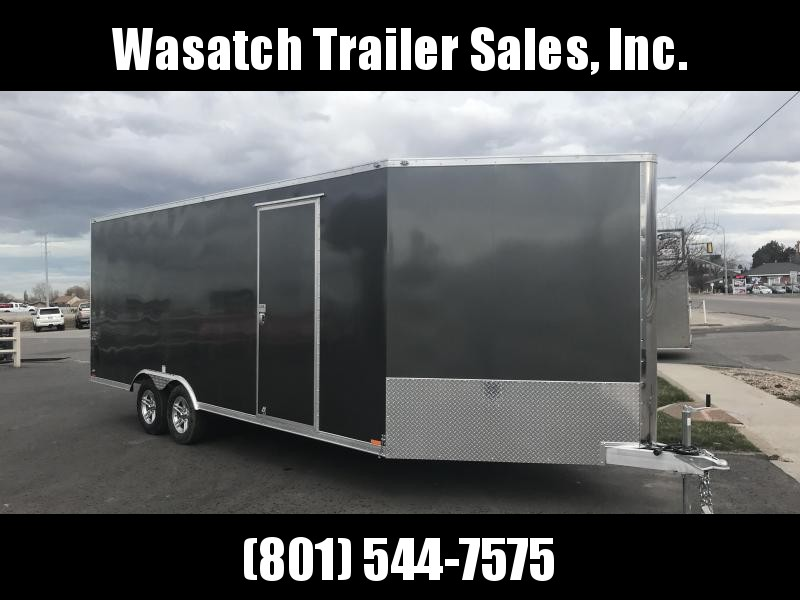 2018 Cargo Mate 25 RedLine Snowmobile Trailer