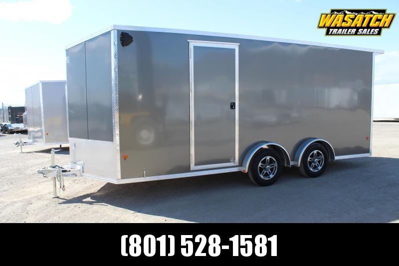EZ Hauler 7.5x18 Aluminum Enclosed Cargo Trailer