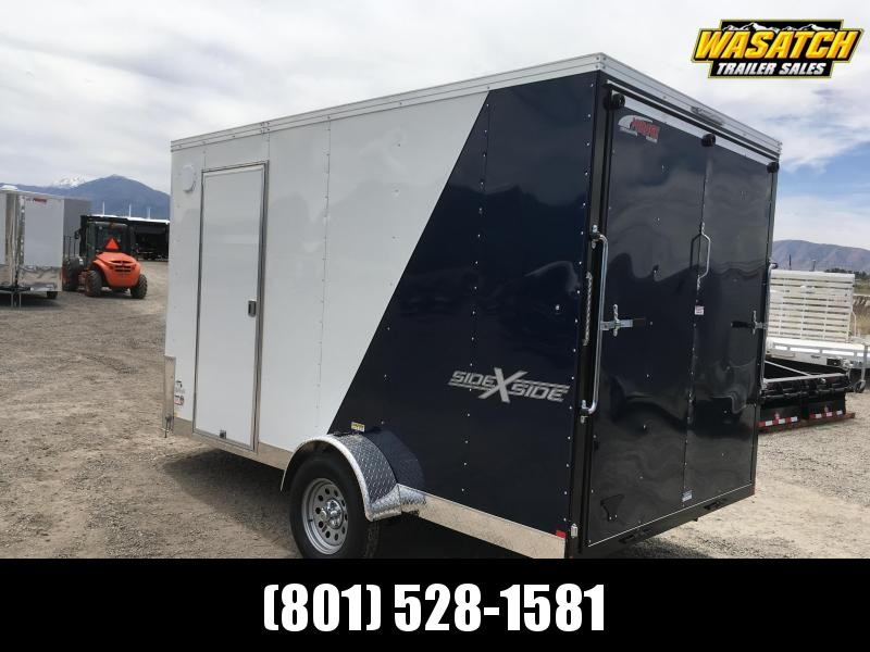 Mirage 7x12 Xpres Enclosed Steel Cargo w/ V-nose