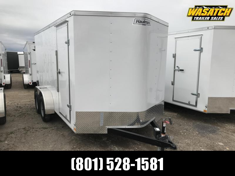 Haulmark 7x14 Passport Enclosed Steel Cargo Trailer w/ V-nose