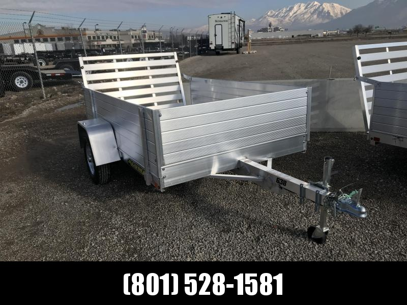 2019 Aluma 638LW 24 Solid Side Utility Trailer
