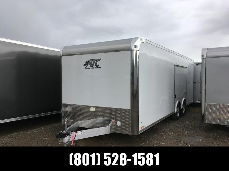 2019 8.5x24 ATC Raven Carhauler with Carhauler Plus Package