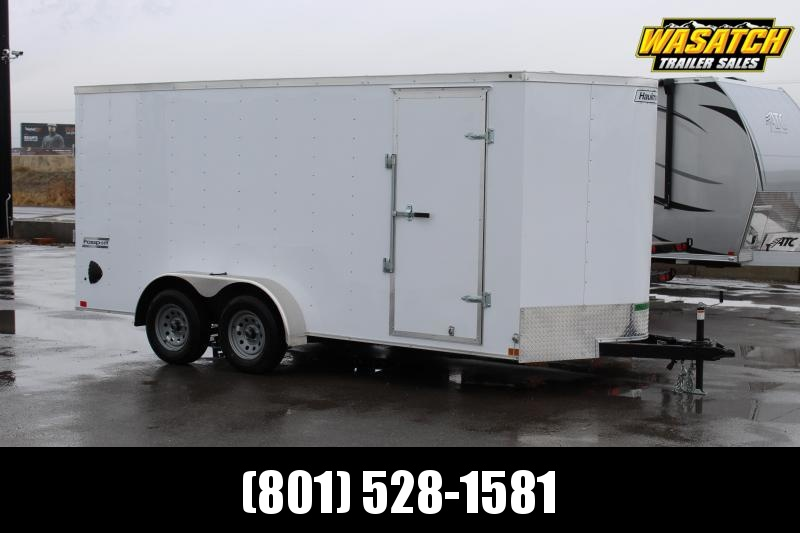 Haulmark 7x16 Passport Deluxe Enclosed Cargo Trailer