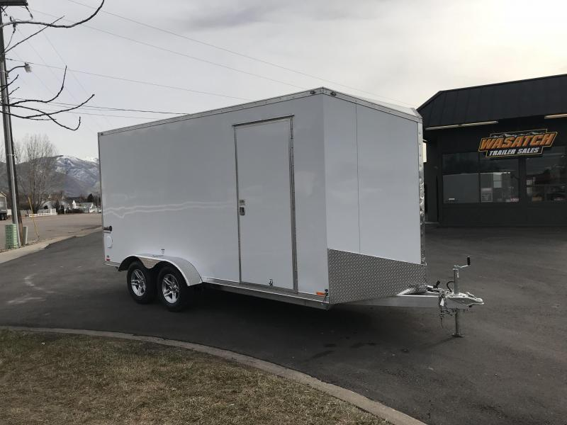 2018 Cargo Mate 7X16 RedLine Aluminum Enclosed Cargo Trailer
