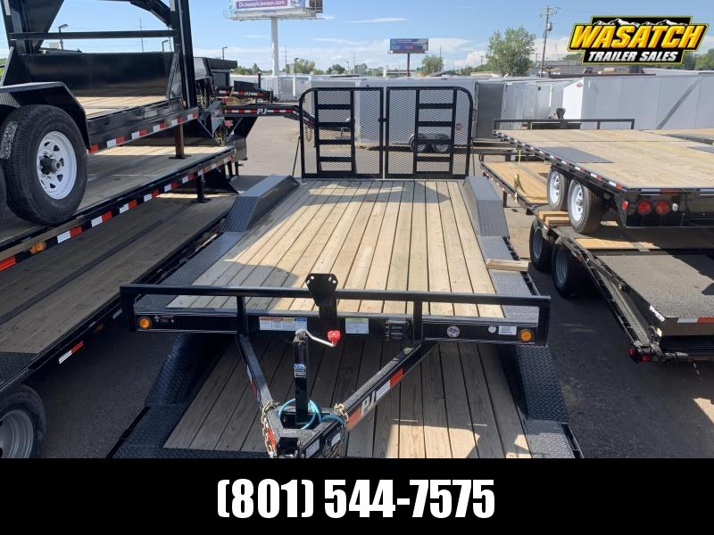 2018 PJ Trailers 18ft Channel Buggy Hauler Equipment Trailer