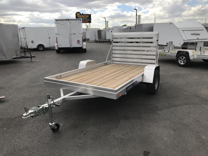 2019 Aluma 68x10 Wood Deck Aluminum Utility Trailer