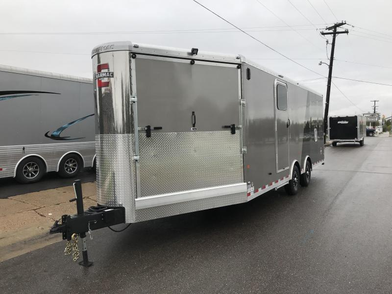 2018 Charmac Trailers 30ft Tri Sport Snowmobile Trailer