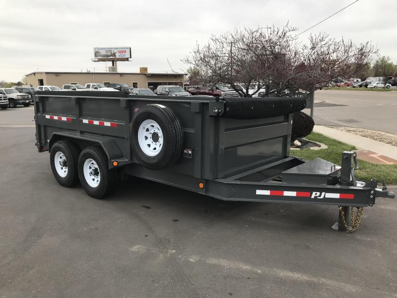 2019 PJ Trailers 83X14 Low Dump Trailer