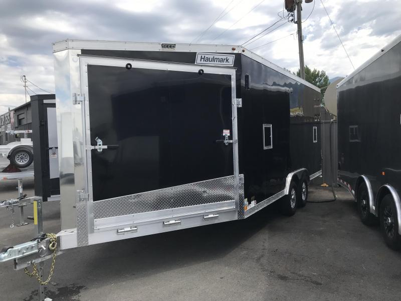 2018 Haulmark 8.5x24 Aluminum Snowmobile Trailer