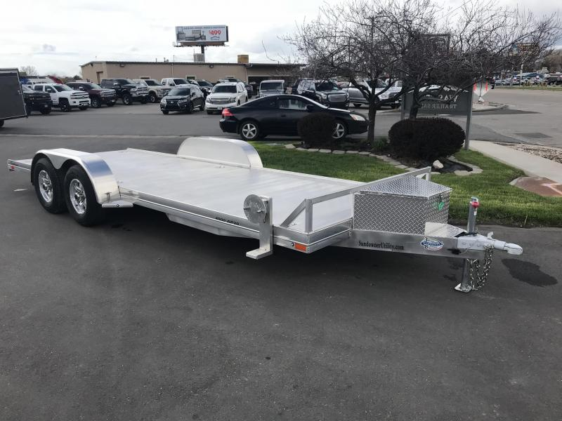 2019 Sundowner Trailers 20 AP 4000 Aluminum Car Hauler