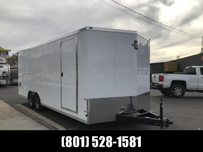 Charmac 100x22 White Stealth Cargo