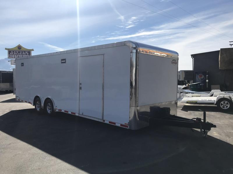 2018 Cargo Mate 8X28 Eliminator Race Trailer