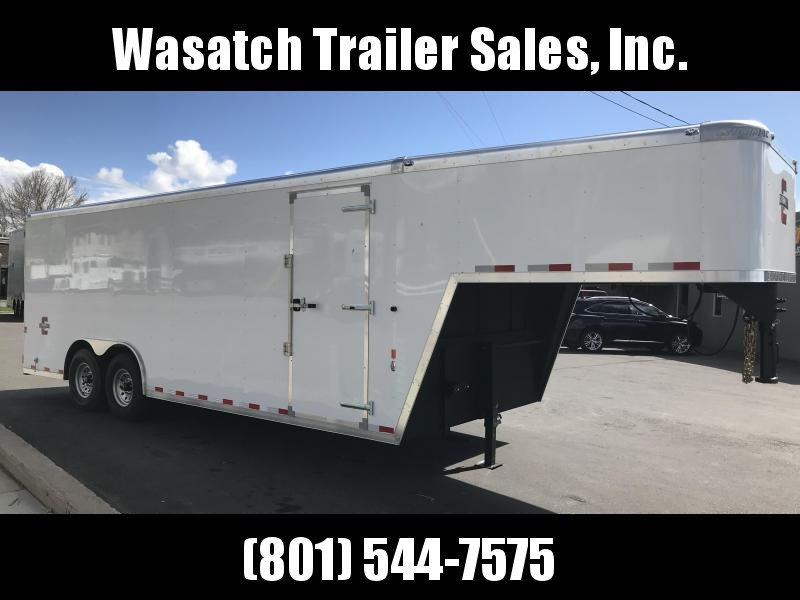 2018 Charmac Trailers 22 Gooseneck Enclosed Cargo Trailer