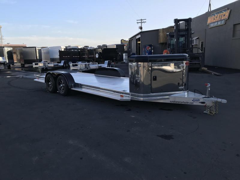 2018 Sundowner Trailers 22 Ultra Series Aluminum Car Hauler