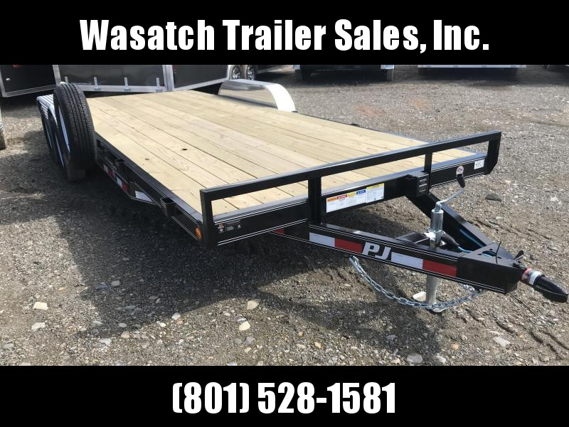 2019 PJ Trailers 20ft - 5 in. Channel Carhauler (C5) Car / Racing Trailer