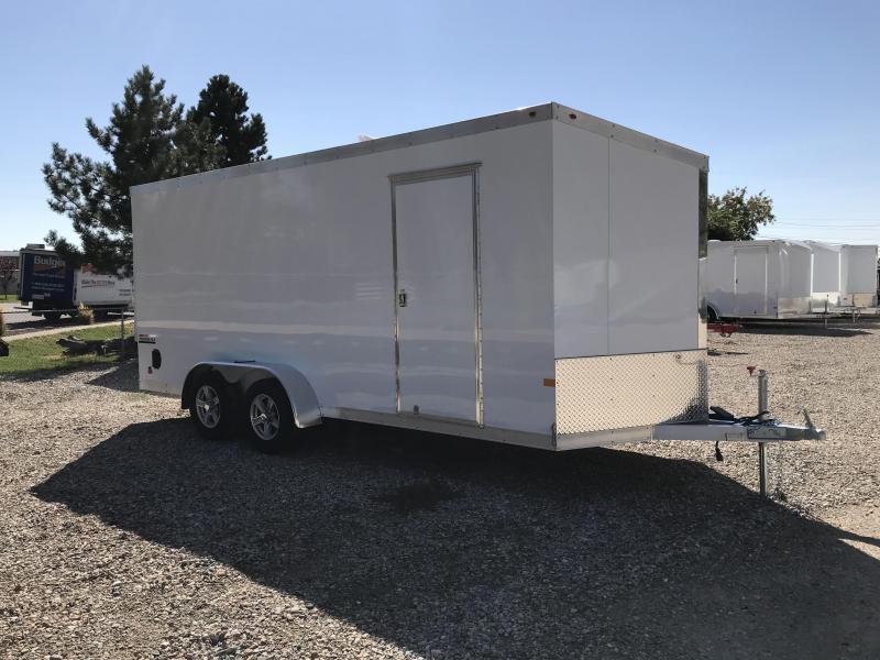 2018 Haulmark 7X18 Aluminum Enclosed Cargo Trailer