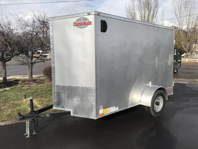 2019 Cargo Mate 6X10 Edge Series Enclosed Cargo Trailer