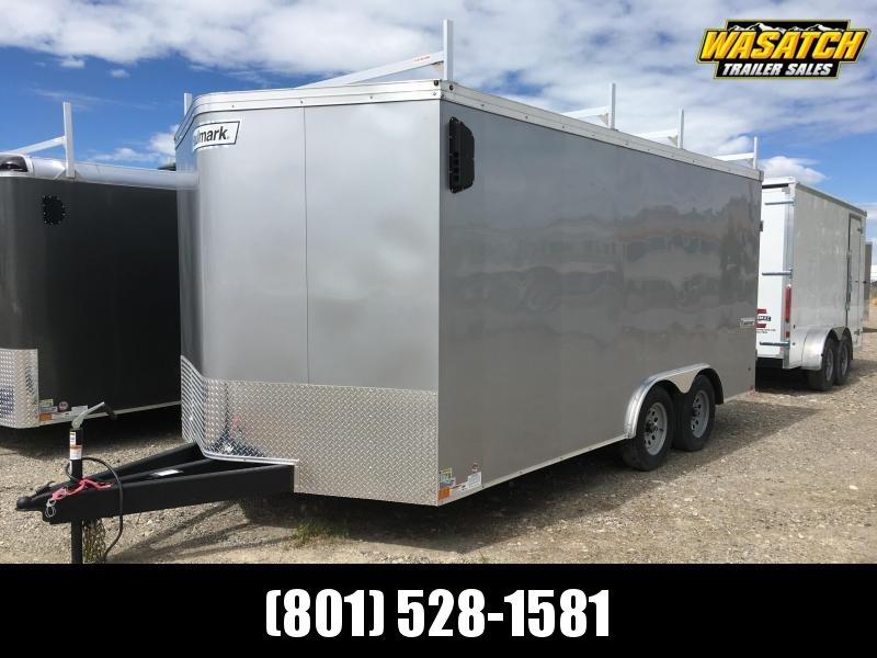 Haulmark 8.5x16 Transport Enclosed Steel Cargo w/ V-nose