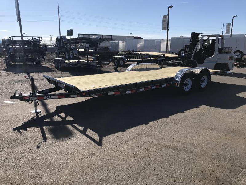 "2018 PJ Trailers 22 5"" Channel Flatbed Trailer"