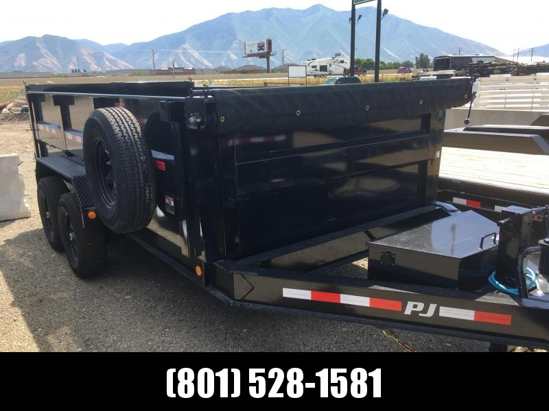 PJ Trailers 14ft - 83 Low Pro High Side Dump (DM) Trailer