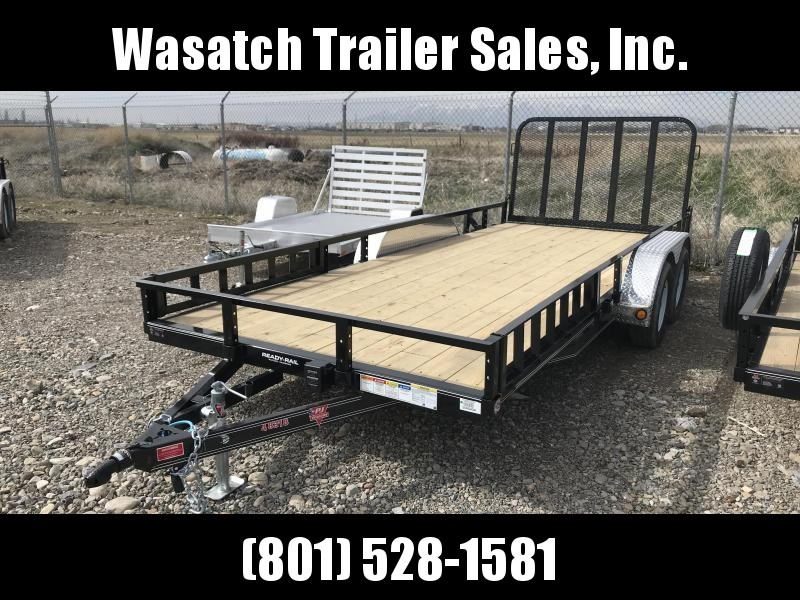 2019 PJ Trailers 18ft Tandem Axle Channel Utility (UL) Utility Trailer