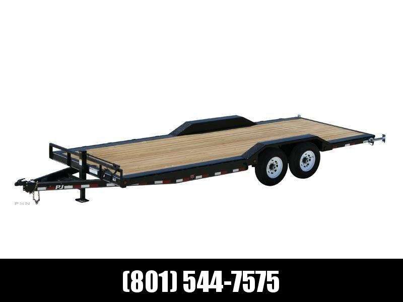 2019 PJ Trailers 22ft - 6 in. Channel Super-Wide (B6) Equipment Trailer