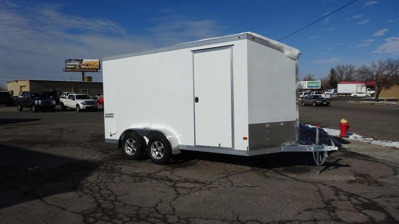 2017 Haulmark 7X14 Aluminum Enclosed Cargo Trailer