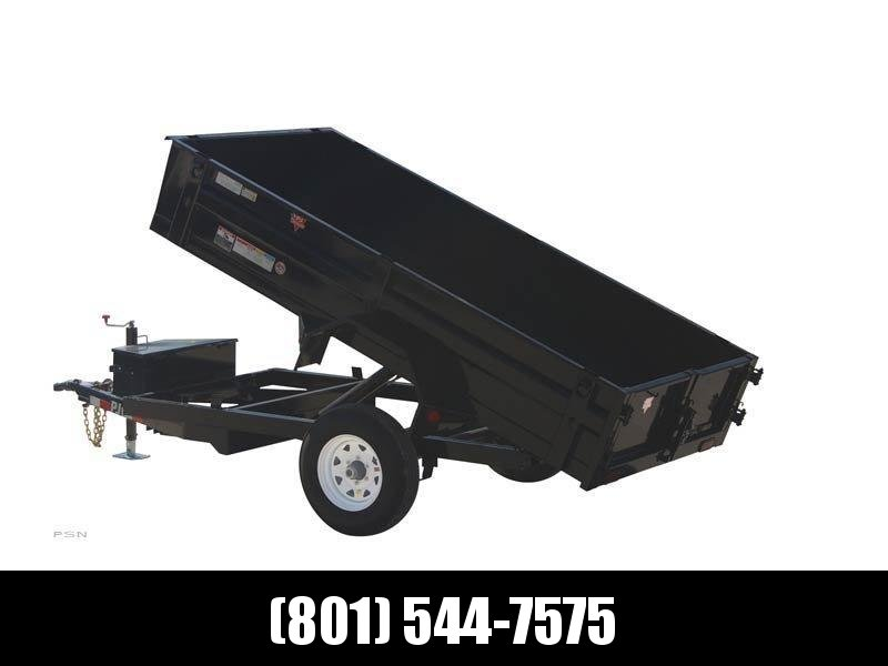 2019 PJ Trailers 8 ft x 60 in. Utility Dump (D5) Dump Trailer