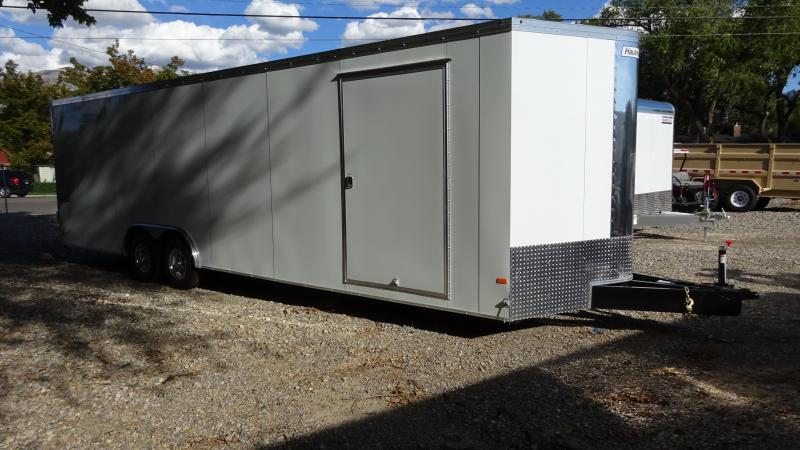 2017 Haulmark 28 Transport Enclosed Car Hauler