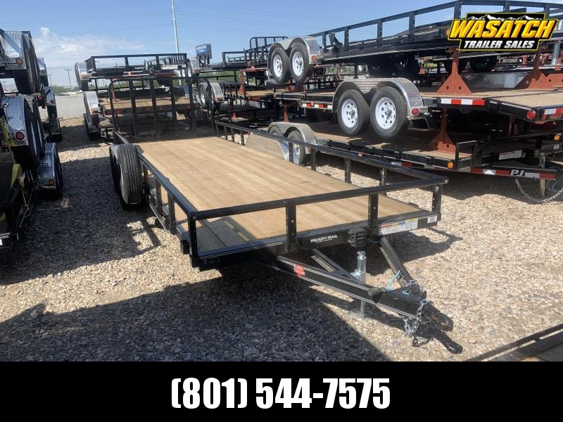 2020 PJ Trailers 83 in. Tandem Axle Channel Utility (UL) ATV Trailer