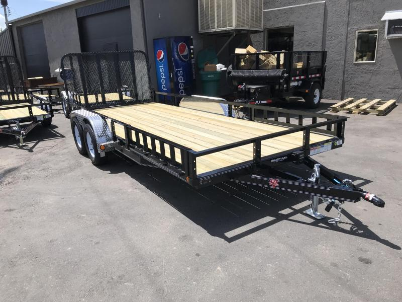 2019 PJ Trailers 83in x 18ft UL Utility Trailer