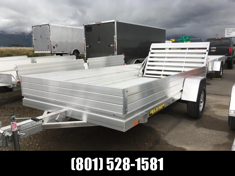 "Aluma 6812H Utility Trailer with 12"" Solid Sides"