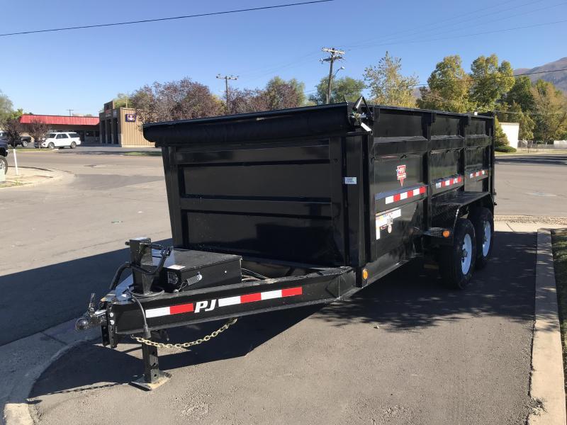 2019 PJ Trailers 12x83 Low Pro High Side Dump (DM) Dump Trailer