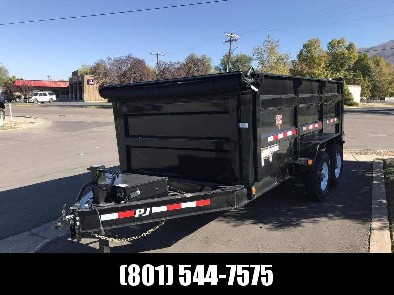 2019 PJ Trailers 12x83 Low Pro High Side Dump (DM) Dump Trailer