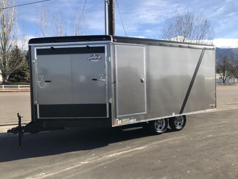 2018 Cargo Mate 19 Snobird Snowmobile Trailer