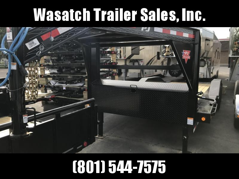 2019 PJ Trailers 20ft - 6 in Channel Super-Wide Tilt (TS) Flatbed Trailer