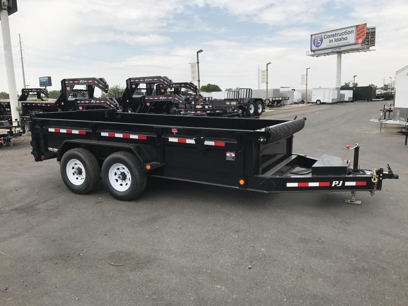 2018 PJ Trailers 83X14 Low Pro Dump Trailer