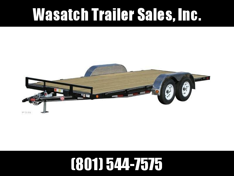 2019 PJ Trailers 18ft - 4 in. Channel Carhauler (C4) Equipment Trailer