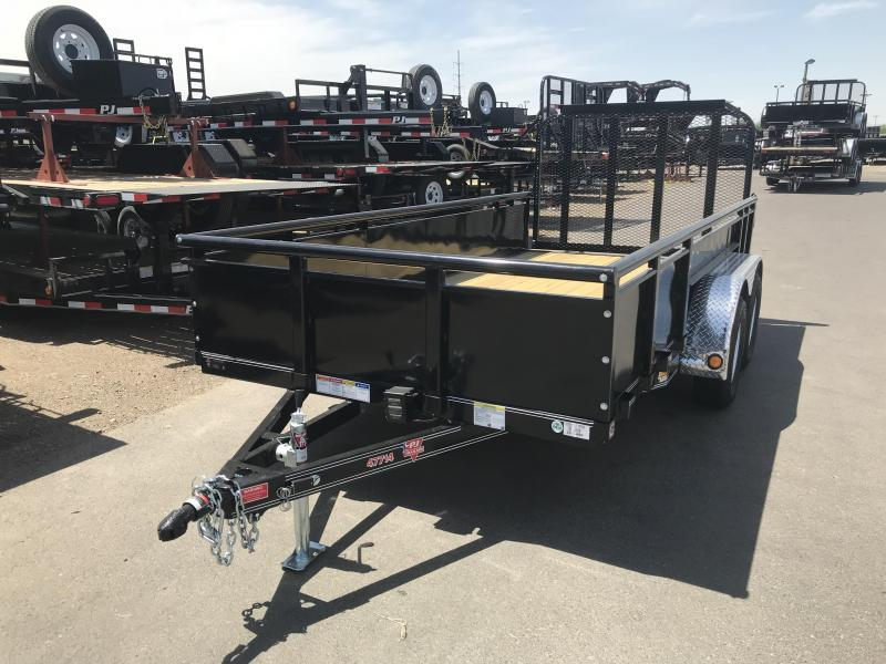 2019 PJ Trailers 83x14 High Side Utility Trailer