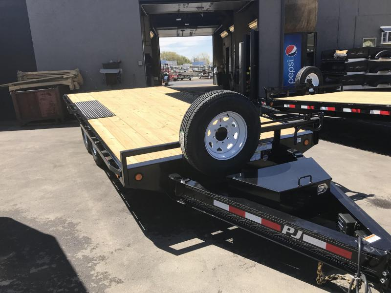 2019 PJ Trailers 16 Deck Over Flatbed Trailer
