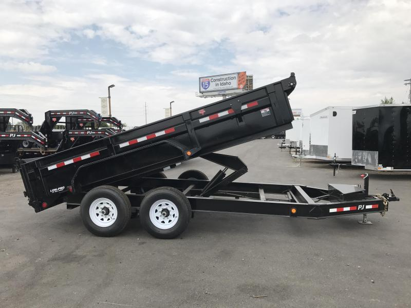 2019 PJ Trailers 83X14 Low Pro Dump Trailer