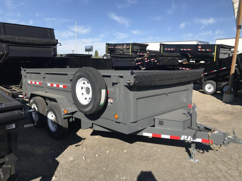 2018 PJ Trailers 14ft D7 Dump Trailer