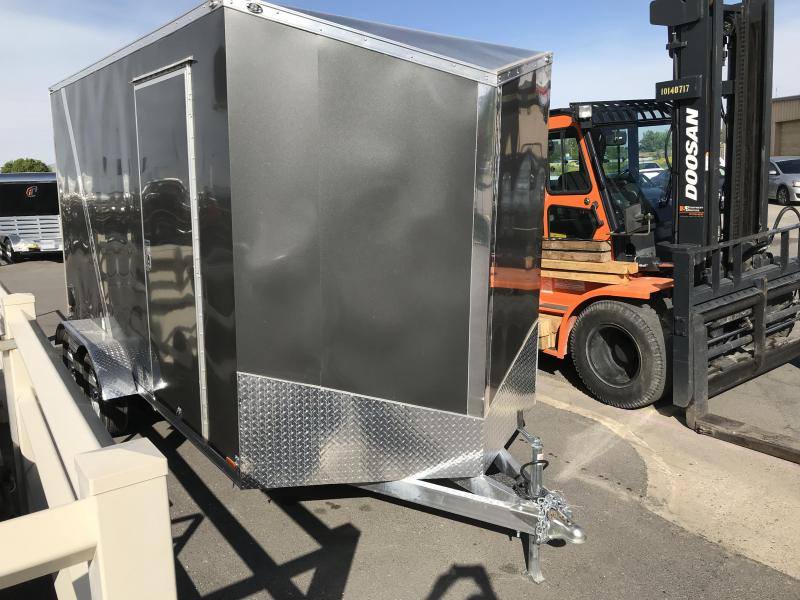 2019 Cargo Mate 7 x 14 Aluminum Enclosed Cargo Trailer